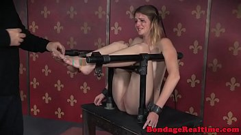 sadism & sadism gimp canned while tied by.