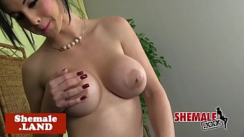 cuban tgirl hottie solo taunting and.