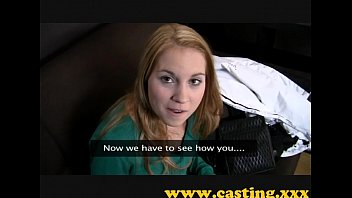 casting - spectacular jumpy nubile