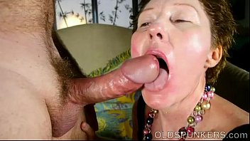supah lovely aged girl enjoys to deep-gullet prick.