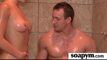 Soapy Massage and Shower Blowjob 6