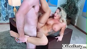 Sexy Big Boobs Girl (Cali Carter) Like Hardcore Sex In Office video-7