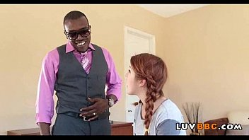 Tiny hippie teen drilled by big black cock 38 81