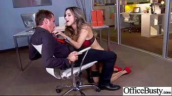 (nadia styles) Sexy Girl With Big Boobs Banged In Office movie-23