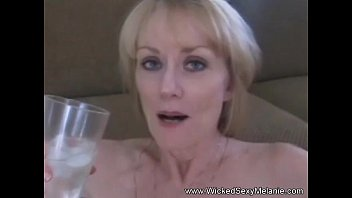 Amateur GILF Cum Facial Compilation